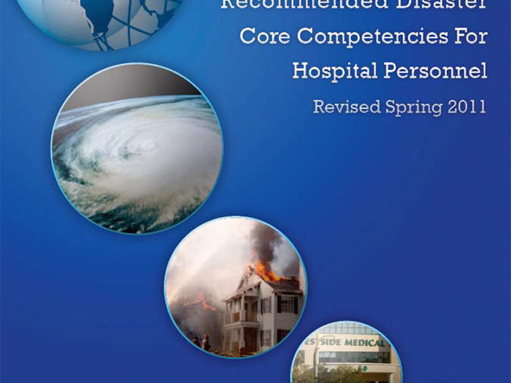 Recommended Disaster Core Competencies