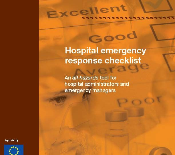 WHO Hospital Emergency Response Checklist