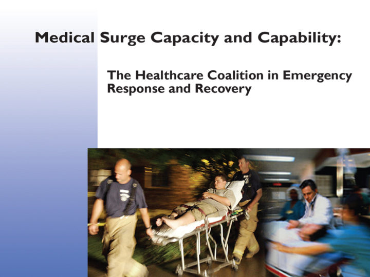 The Healthcare Coalition in Emergency Response and Recovery