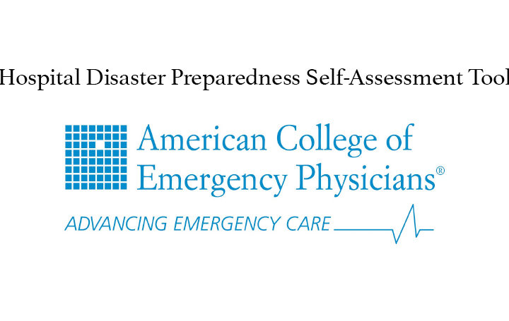 Hospital Disaster Preparedness Self-Assessment Tool