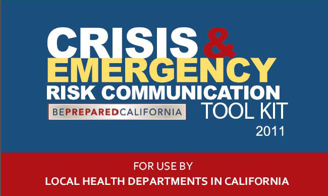 Crisis and Emergency Risk Communications Toolkit