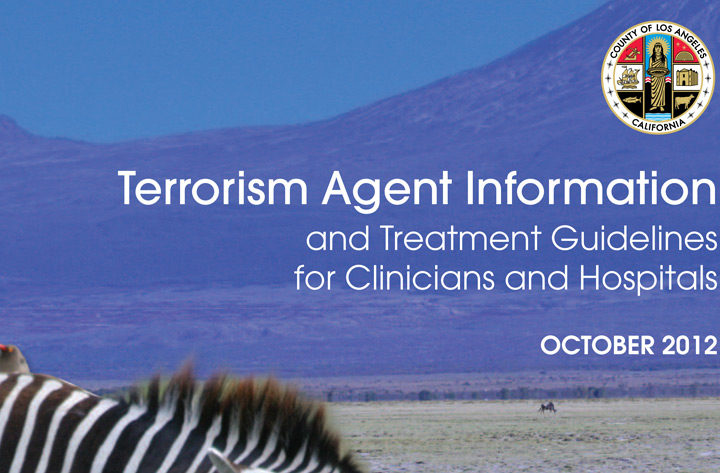 Terrorism Agent Information and Treatment Guidelines for Hospitals and Clinicians