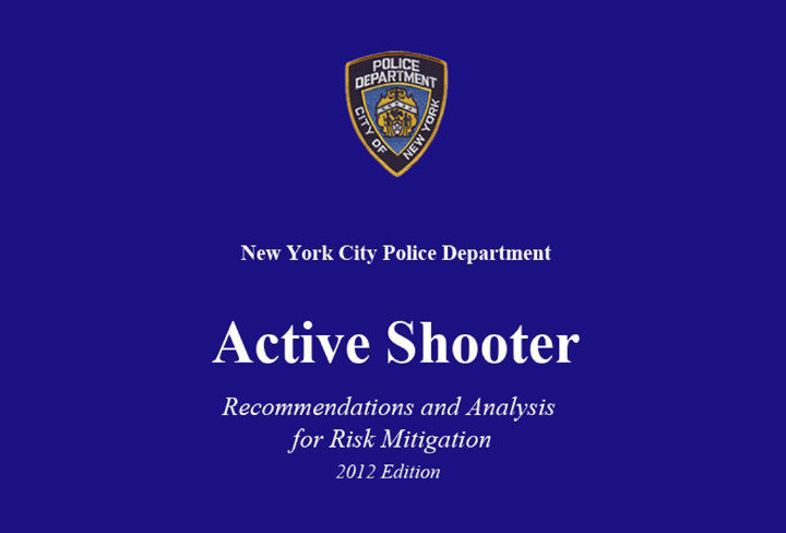 Active Shooter: Recommendations and Analysis for Risk Mitigation (NYPD)