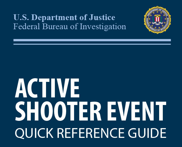 FBI – Active Shooter Tent Card