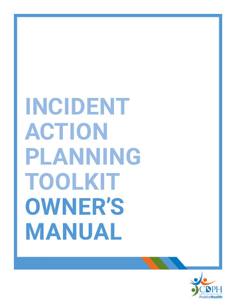 Incident Planning Guides  Cdph  Emergency Preparedness Office